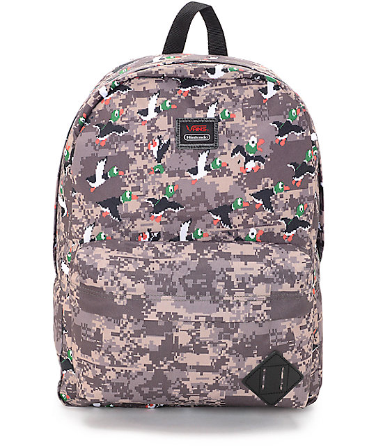63137e6b6a66 Vans X Nintendo Old Skool II Duck Hunt 22L Backpack