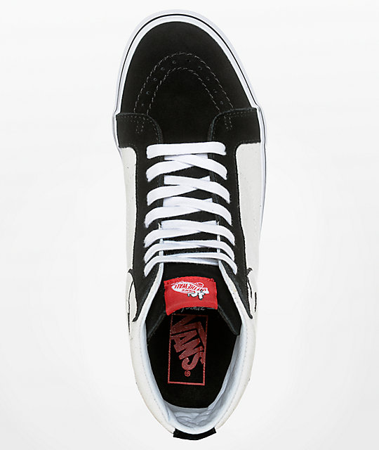 044b4f874d ... Vans X Peanuts SK8-Hi Joe Cool Skate Shoes ...