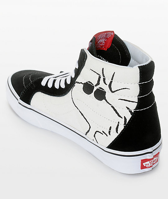 52509656a42016 ... Vans X Peanuts SK8-Hi Joe Cool Skate Shoes ...