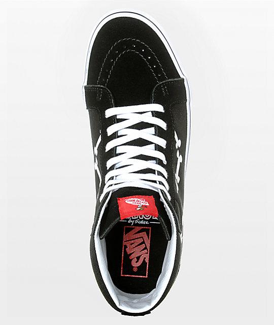 Vans X Peanuts Sk8 Hi Snoopy Bones Skate Shoes Zumiez