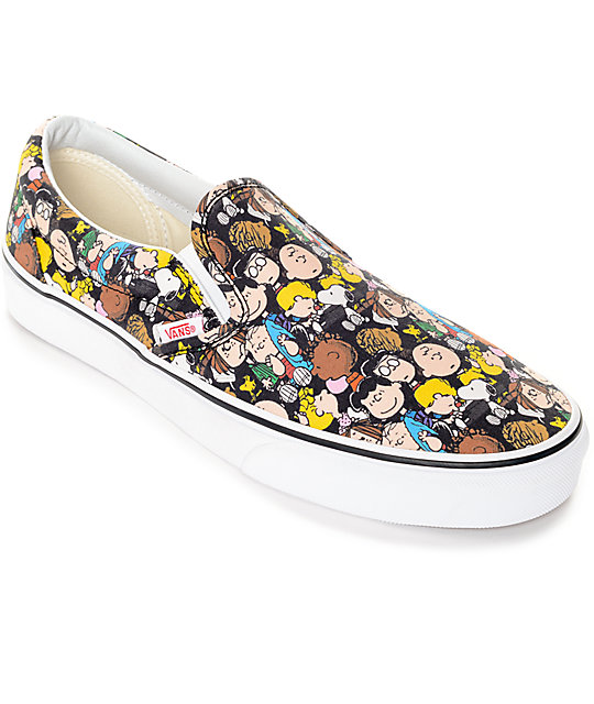 Vans X Peanuts Slip On The Gang zapatos
