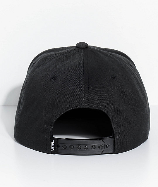 ... Vans X Spitfire gorra negra de béisbol b9de0c3a65f
