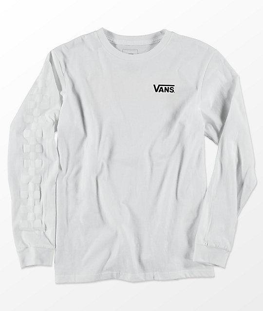 Vans x Thrasher Checker Long Sleeve T Shirt