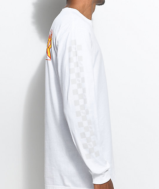 335243e1ca ... Vans X Thrasher White Checker Long Sleeve