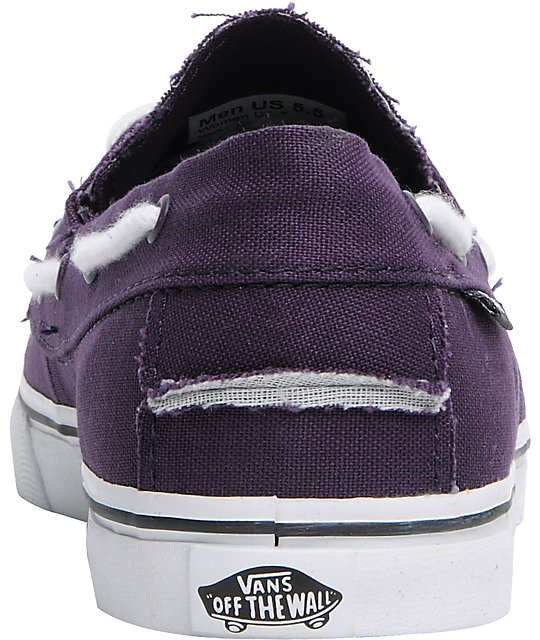 Vans Zapato Lo Pro Sweet Grape Boat Shoes