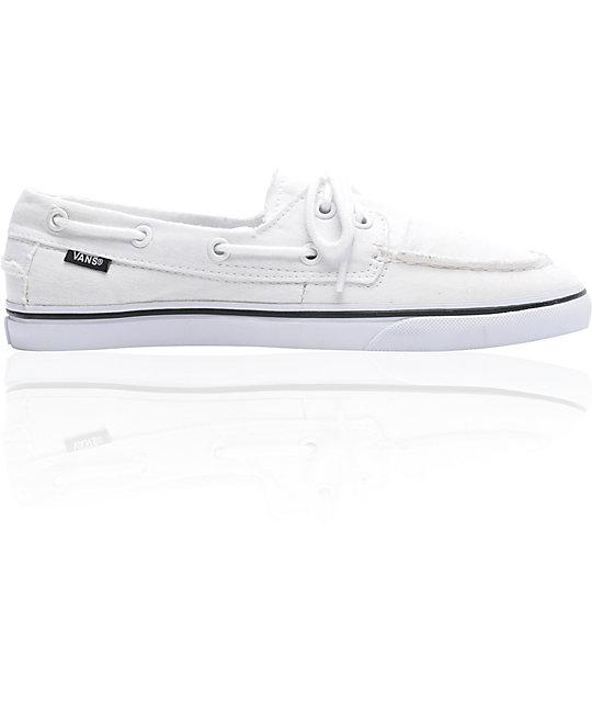 f7b32ec9674757 Vans Zapato Lo Pro True White Skate Shoess
