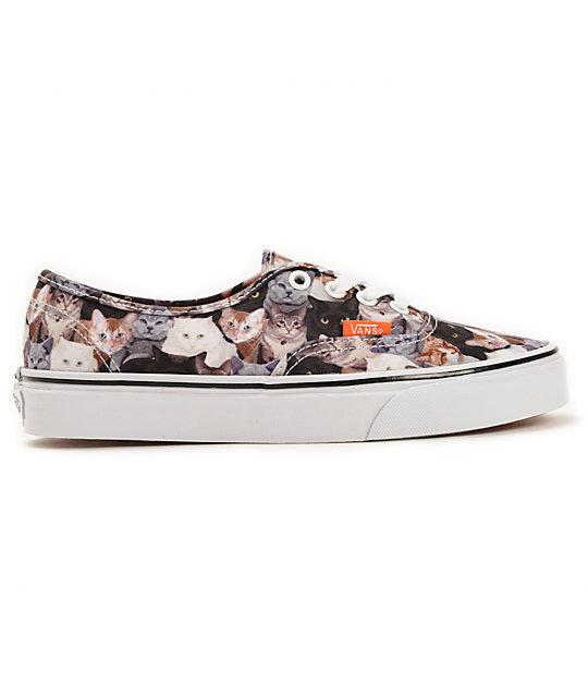 9f9b2ae734818d ... Vans x ASPCA Authentic Cats Shoes
