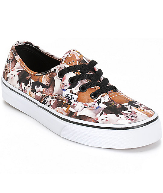 516ad7f644 Vans x ASPCA Authentic Kittens Shoes