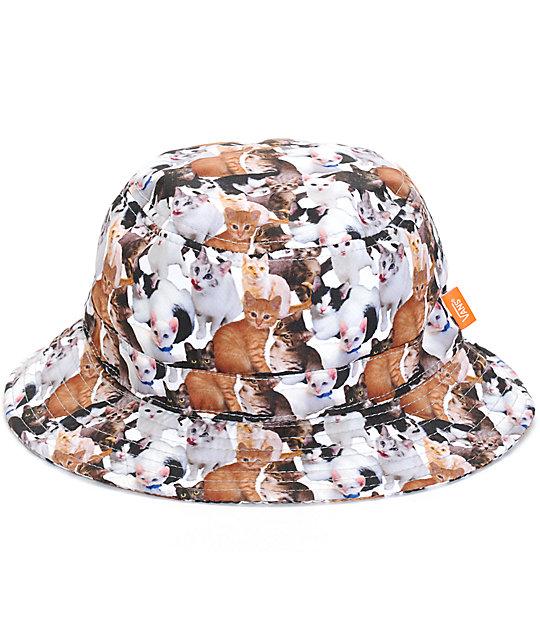 63b247dc825 Vans x ASPCA Cat Bucket Hat