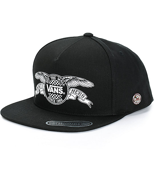 Vans x Anti Hero Snapback Hat  d119b7800629