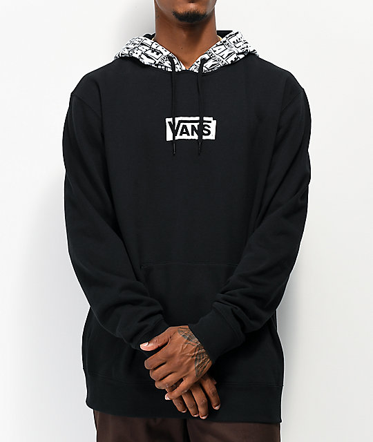 best supplier release info on classic style Vans x Baker Black Hoodie
