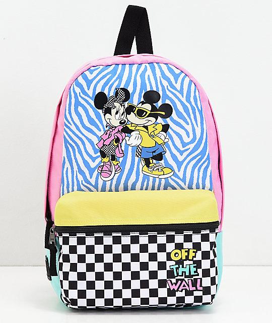 c62a3ff15d2c Vans x Disney Hyper Minnie Calico Backpack