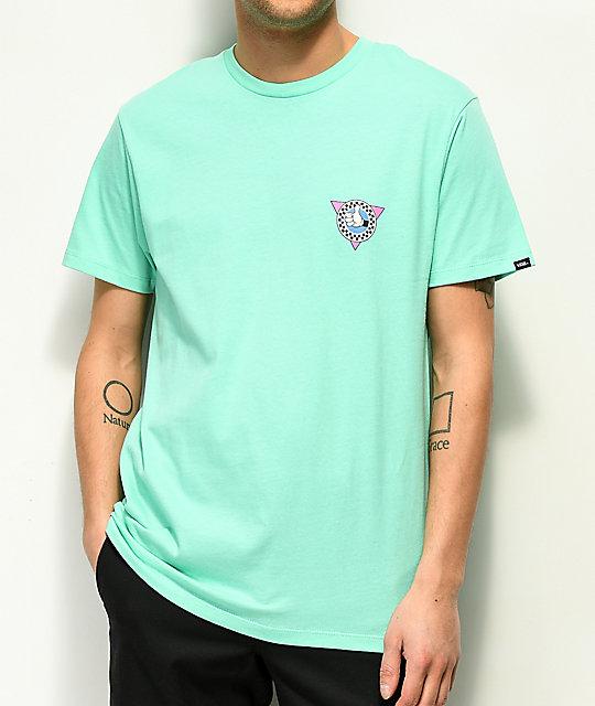 ad04e8b60c ... Vans x Disney Mickey 90th Teal T-Shirt ...