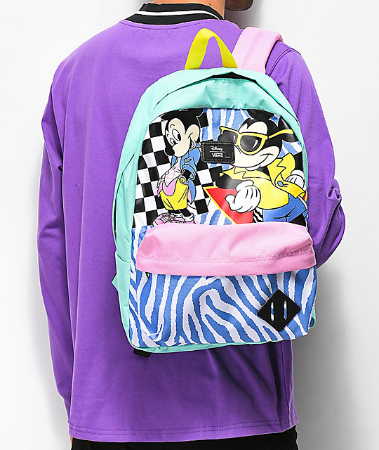 1fe2d98cdf Vans x Disney Mickey Old Skool II Backpack | Zumiez.ca