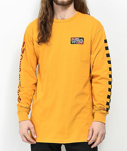 vans hombres amarilla