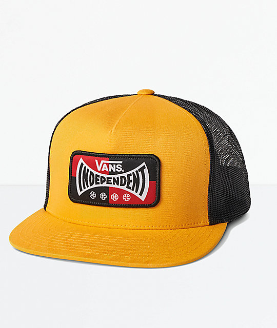 Vans x Independent Yellow Trucker Hat