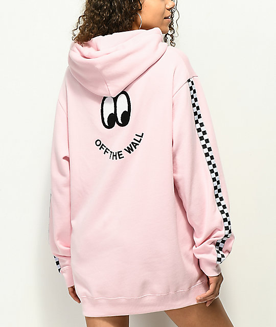 9d18bac0728631 Vans x Lazy Oaf Pink Hoodie