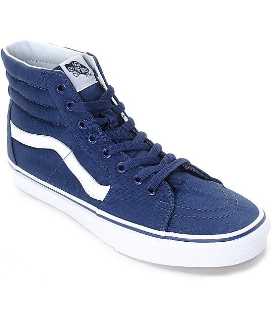 vans high tops mens blue \u003e Clearance shop