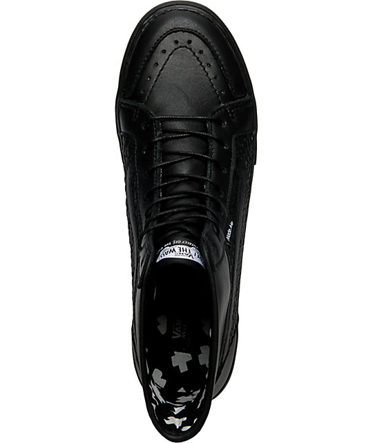 Vans x Made Me Wellesley Black Shoes