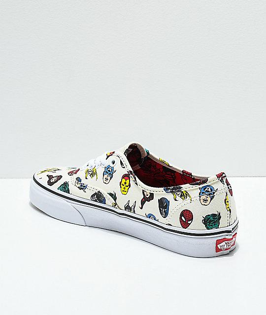 1557ef2cd7 ... Vans x Marvel Authentic Skate Shoes ...