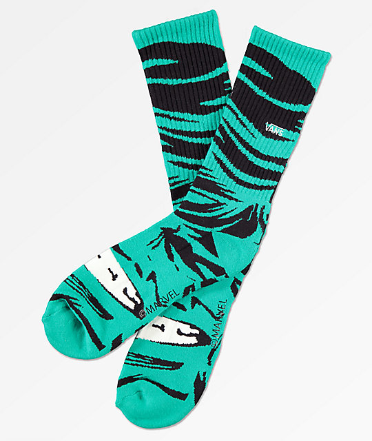 Vans x Marvel Darkest Spruce Crew Socks