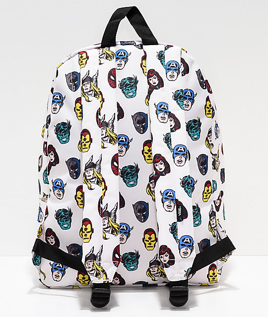 ... Vans x Marvel Old Skool II Avengers Backpack ... 7f42eecf1b51d