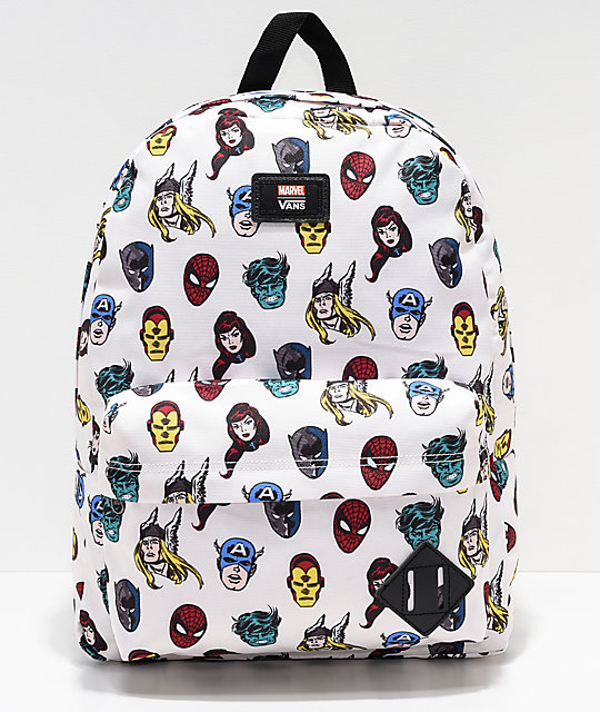 Vans x Marvel Old Skool II Avengers Backpack  ddf4f6cc2da76