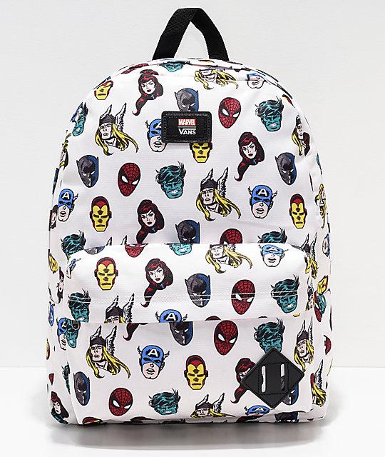 Vans x Marvel Old Skool II Avengers Backpack