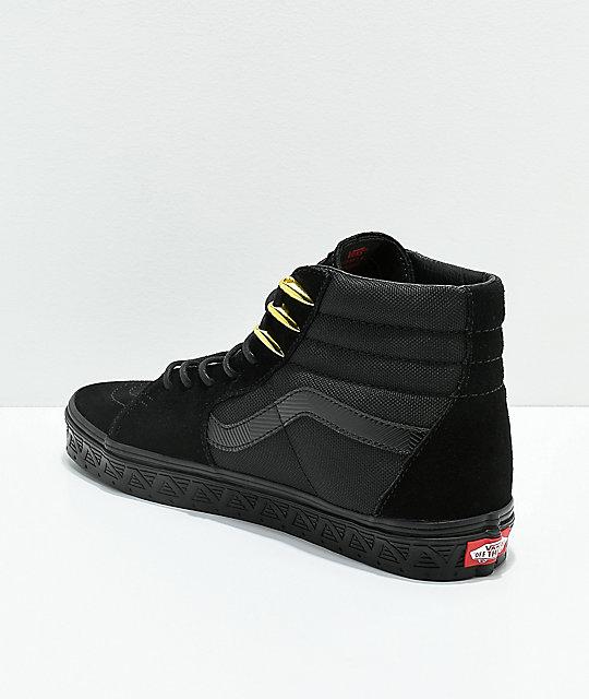 vans x marvel sk8-hi shoes
