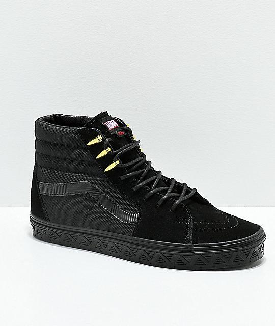 zapatillas vans marvel hombre