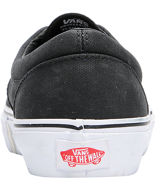Vans x Max Schaaf Era Pro Black Limited Edition Skate Shoes
