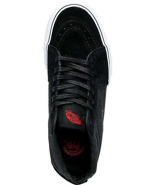 2a5b562749 ... Vans x Max Schaaf Sk8-Mid Black Limited Edition Skate Shoes