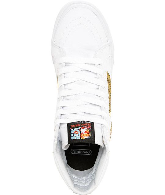 d6085a4301 ... Vans x Nintendo Sk8 Hi Slim Super Mario Bros Shoes ...