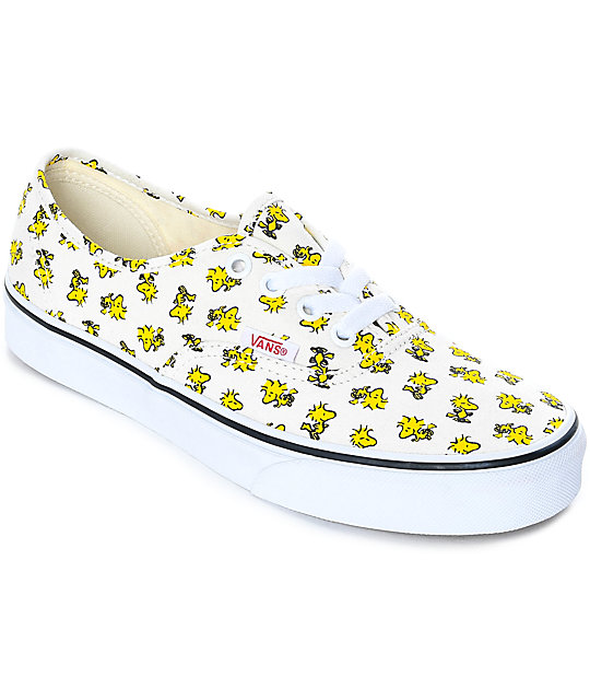 fc249333b7d2 Vans x Peanuts Authentic Woodstock Skate Shoes