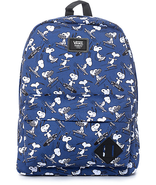 Vans x Peanuts Old Skool II Navy Backpack