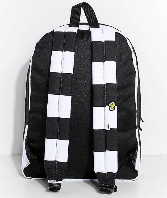 ... Vans x Peanuts Realm Joe Cool Stripe 22L Backpack ...