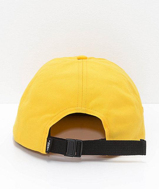659d51b8c39 ... Vans x Peanuts Yellow Jockey Strapback Hat