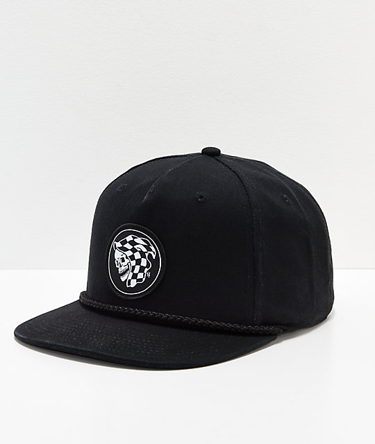 Vans x Sketchy Tank Creep Up gorra snapback en negro