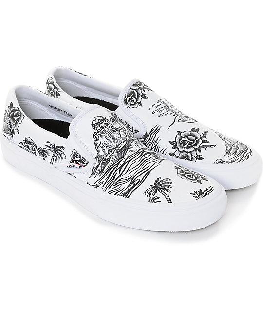 013975ce24 ... Vans x Sketchy Tank Slip-On Pro Skate Shoes ...