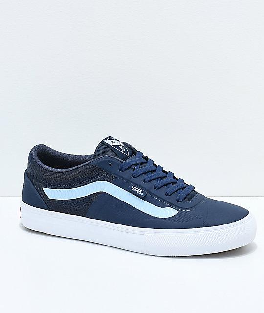 7102e7e0f3 Vans x Spitfire AVE Rapidweld Pro Lite Dress Blue   White Skate Shoes