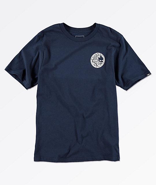 a16dbe978b Shoptagr | Vans X Spitfire Boys Navy T Shirt by Vans