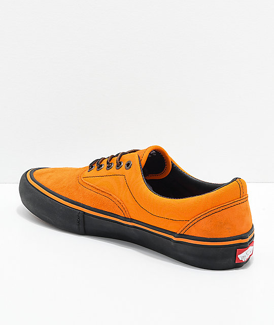 f96aca0477626e ... Vans x Spitfire Era Pro Cardiel   Orange Skate Shoes ...