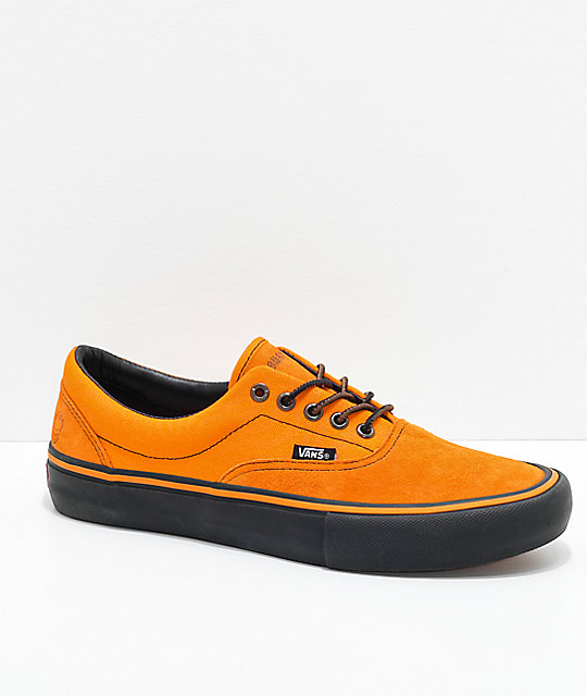 6b28822d360c63 Vans x Spitfire Era Pro Cardiel   Orange Skate Shoes