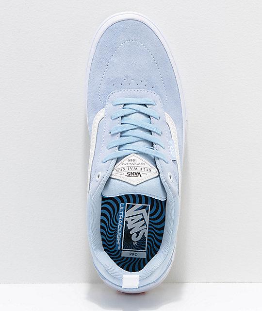 2320ad0811 ... Vans x Spitfire Walker Pro Baby Blue Skate Shoes ...