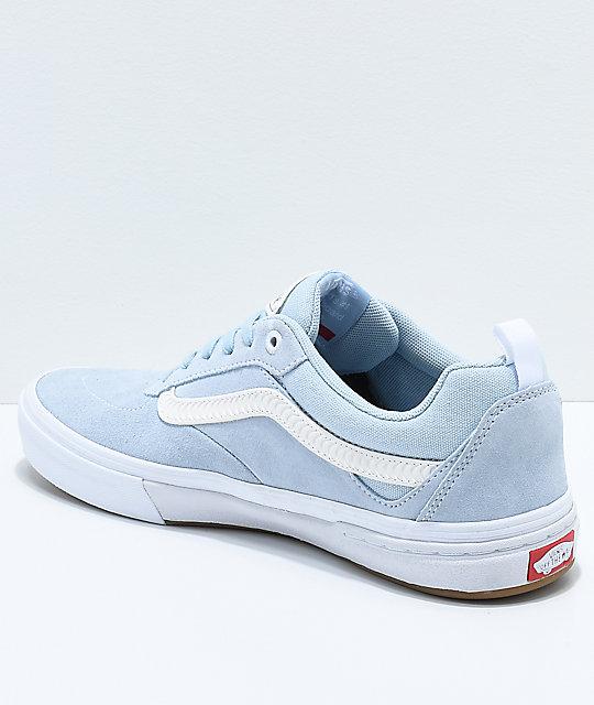 18def730ff7c ... Vans x Spitfire Walker Pro Baby Blue Skate Shoes ...