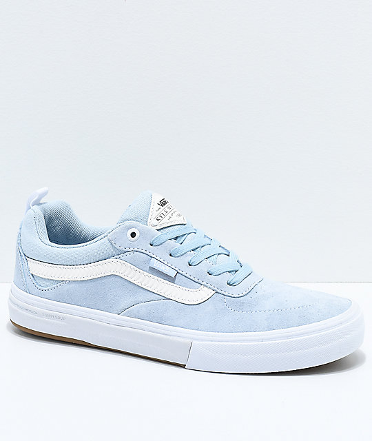 2d0a9e25e6 Vans x Spitfire Walker Pro Baby Blue Skate Shoes