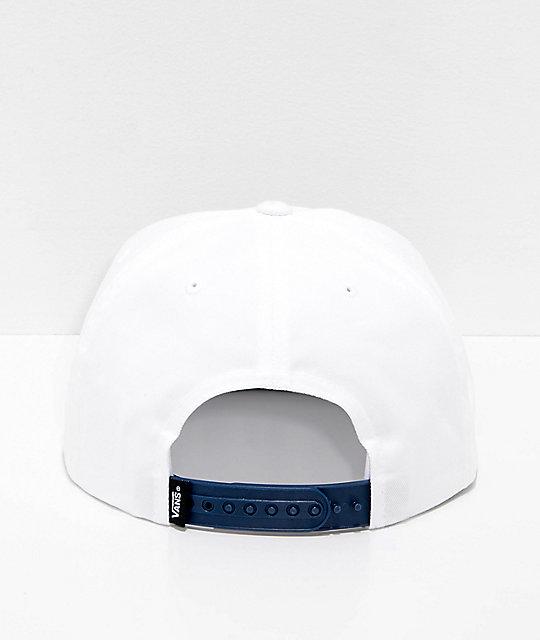 ... Vans x Spitfire gorra de béisbol blanca y azul a9007108c22