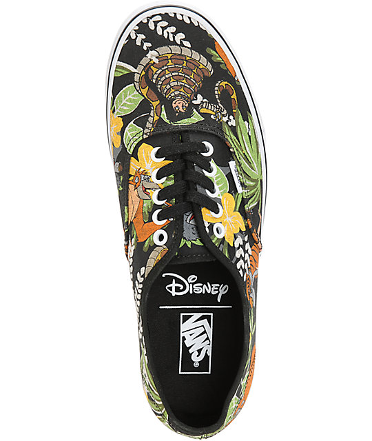 837556696c ... Vans x The Jungle Book Authentic Skate Shoes ...