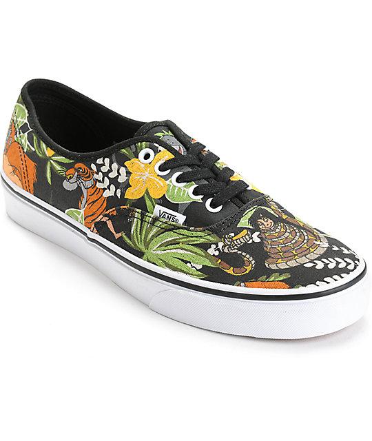 dobra tekstura autoryzowana strona ładne buty Vans x The Jungle Book Authentic Skate Shoes