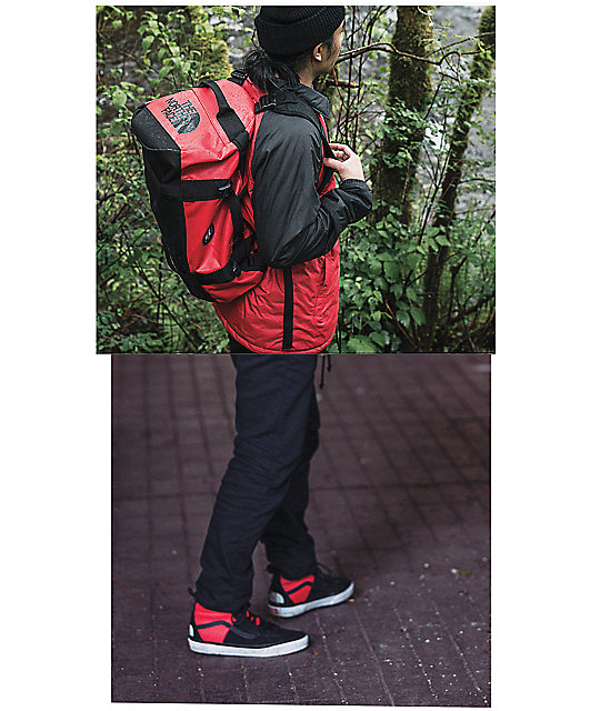 405a443212 ... Vans x The North Face Base Camp Red 50L Duffel Bag